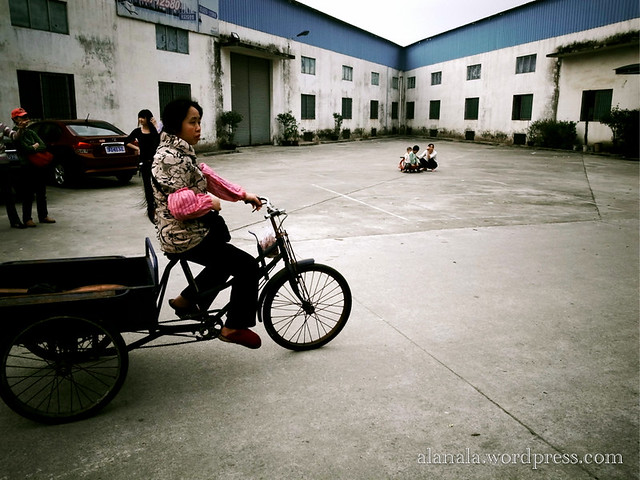 Lady in Tricycle