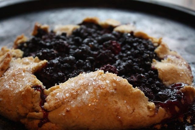 Blackberry-Blueberry Galette