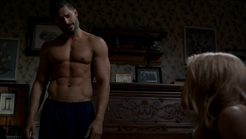 Alcide on True Blood