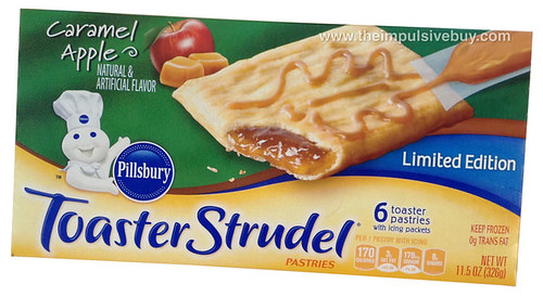 Limited Edition Pillsbury Caramel Apple Toaster Strudel