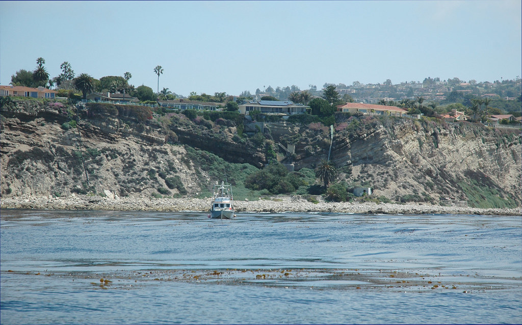 Urchin Boat at Palos Verdes outside MPA