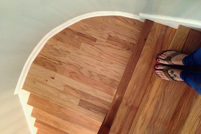 dear pretty floors, I already love you
