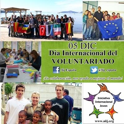 Poster Dia Internacional Voluntariado