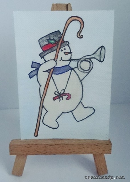 snowman - cane  (2)