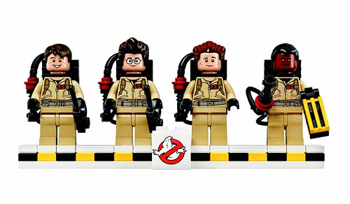 21108 LEGO CUUSOO Ghostbusters Figs