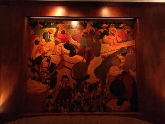 Paul Ninas Murals at Sazerac Bar, Roosevelt Hotel, New Orleans