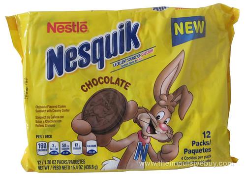 Nestle Nesquik Chocolate Cookies