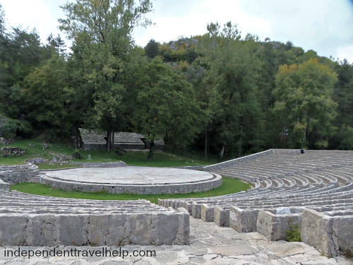 An open-air theatre in Cetinje