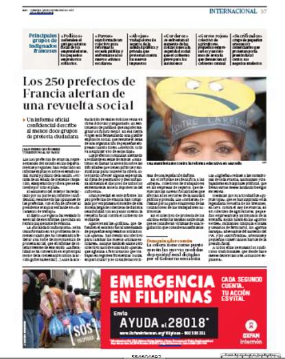 13k15 Prefectos alertan una revuelta social