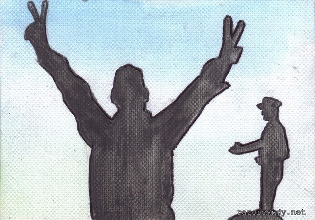Tahir Square Silhouette (1)
