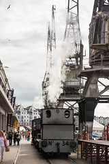 Steam engine on #Bristol Harbour Railway
