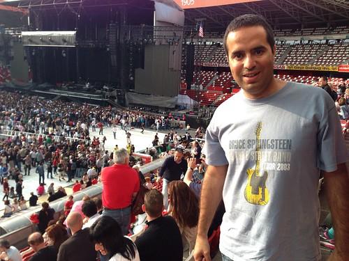 Bruce Springsteen en Gijón 26 junio 2013