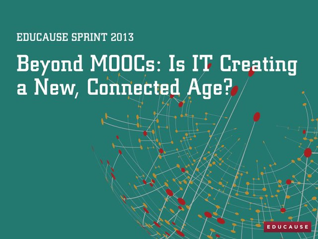 #EDUsprint 3 - Is IT Creating a New, Connected Age?