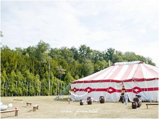 Mariage au cirque
