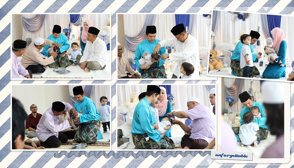 Majlis Aqiqah & Cukur Jambul Muhammad Aqeel bin Muhammad Afnan