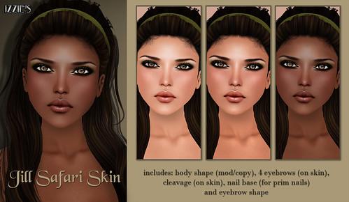 Jill Safari Skin (The Boutique)