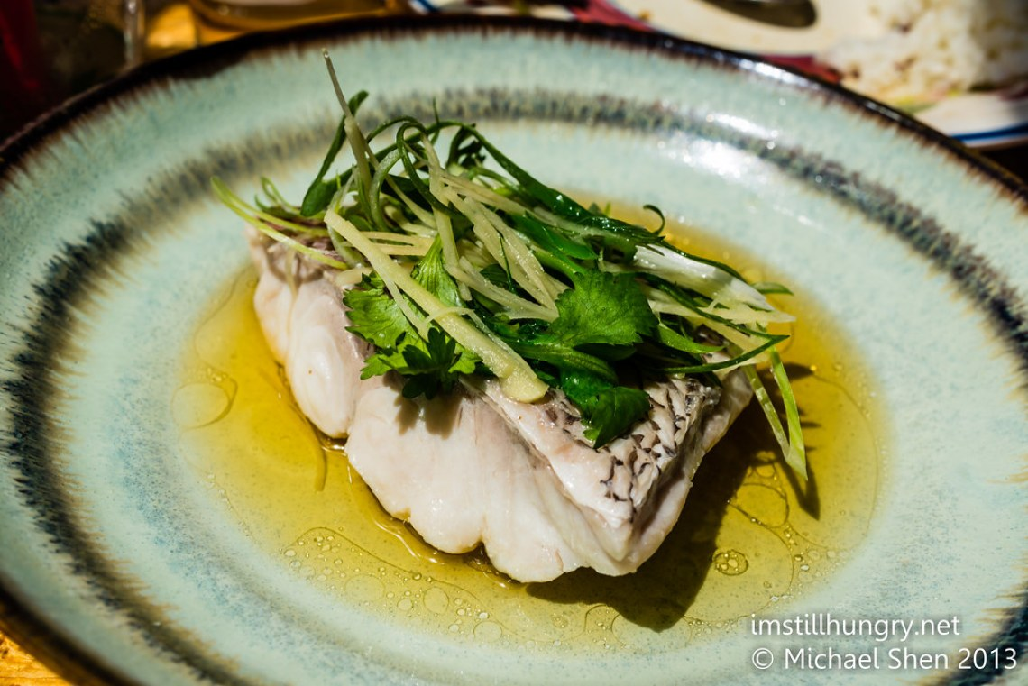 Steamed ginger & shallot fish Ms G's