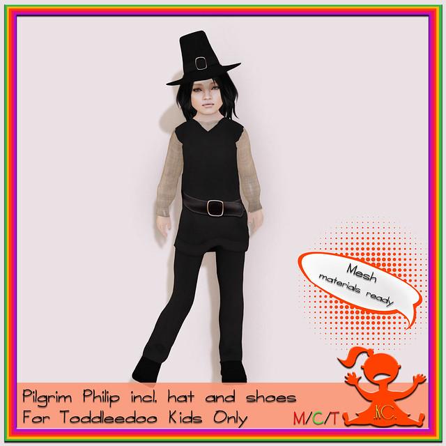 Kidz Clozet - Pilgrim Philip