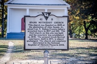 Spann Methodist Sign
