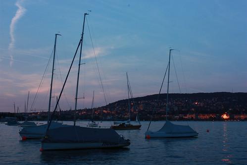 Zurich sunset1