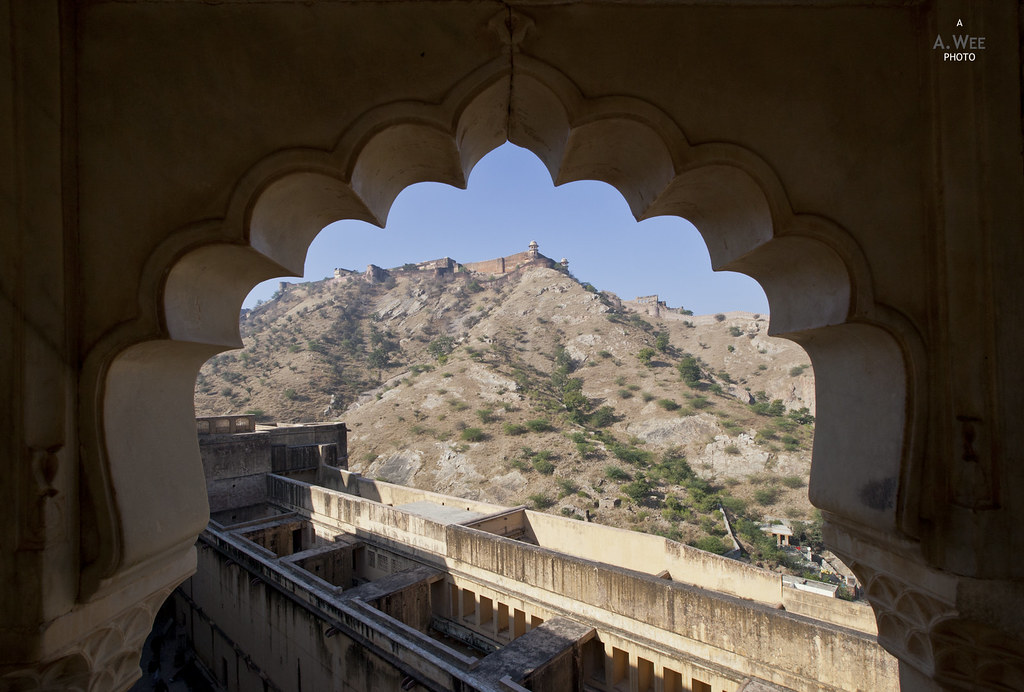View of the Aravali Hills