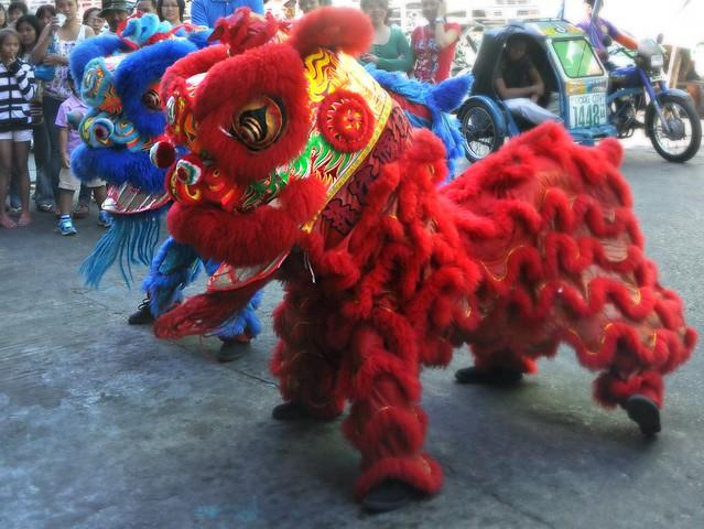 Lion Dance in Laoag