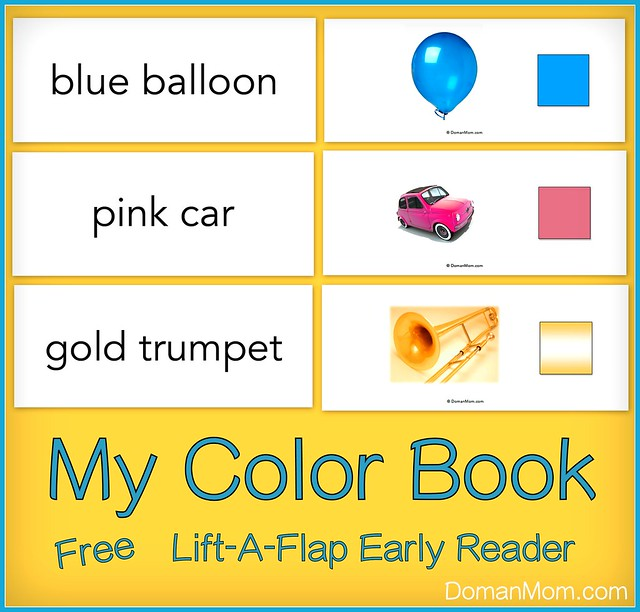My Color Book: Free Lift-A-Flap Early Reader