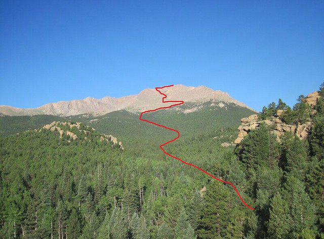 Pikes Peak Route