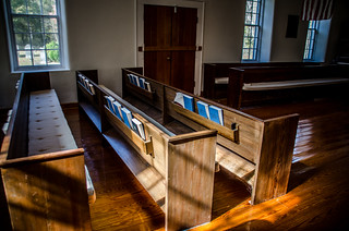 Duncan Creek Presbyterian Church Pews