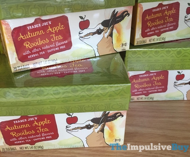 Trader Joe's Autumn Apple Rooibos Tea