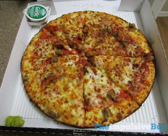 REVIEW: Papa John's Pan Pizza