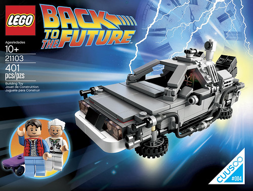 21103 Back To The Future Time Machine box