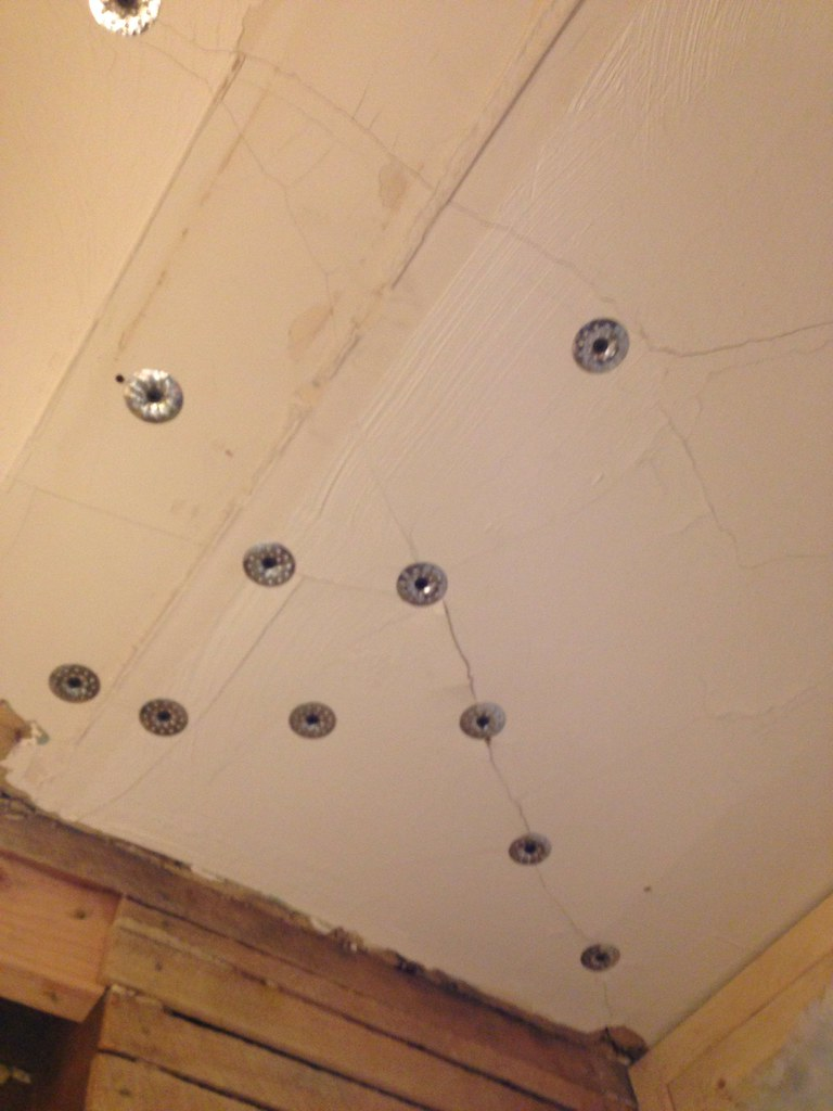 Drywall Over Sagging Plaster Ceiling