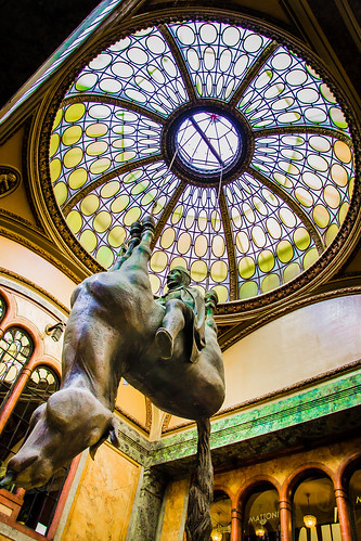 David Cerny Horse Statue. Prague