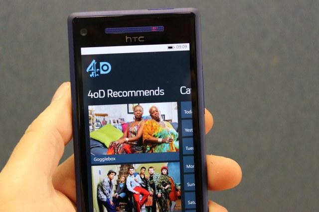 4oD on Windows Phone 8