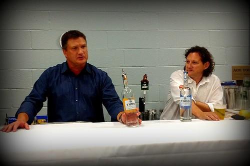 Tom & Esteban of TOPO Distillery