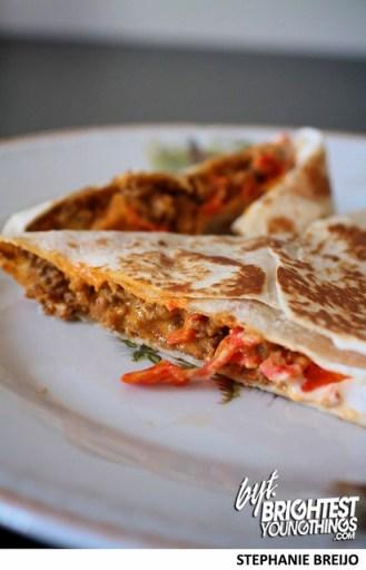 Taco Bell Stuft Nachos Taste Test MTN Dew Baja Blast Photos Brightest Young Things Stephanie Breijo5