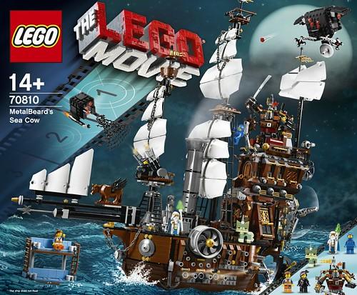 The LEGO Movie 70810 MetalBeard's Sea Cow box 1
