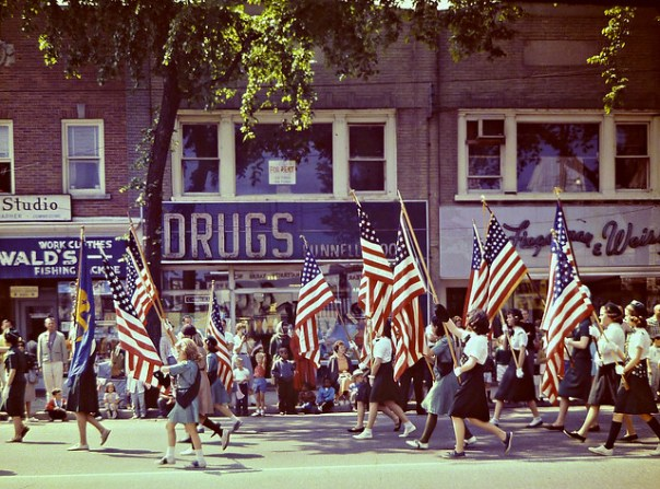 Huntington, New York Memorial Day Parade - 1963