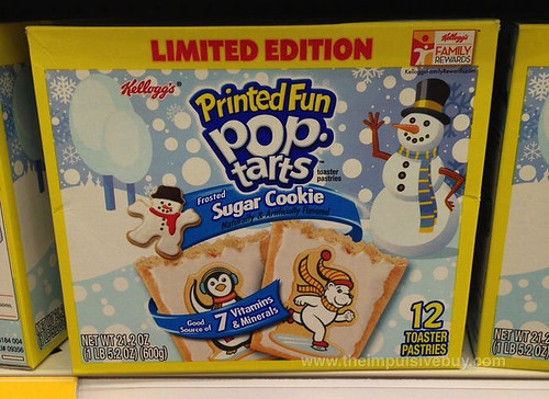 LImited Edition Sugar Cookie Pop-Tarts