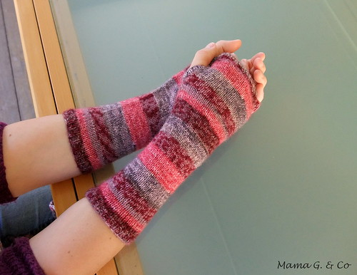 Pink Stripes Handwarmers (1)