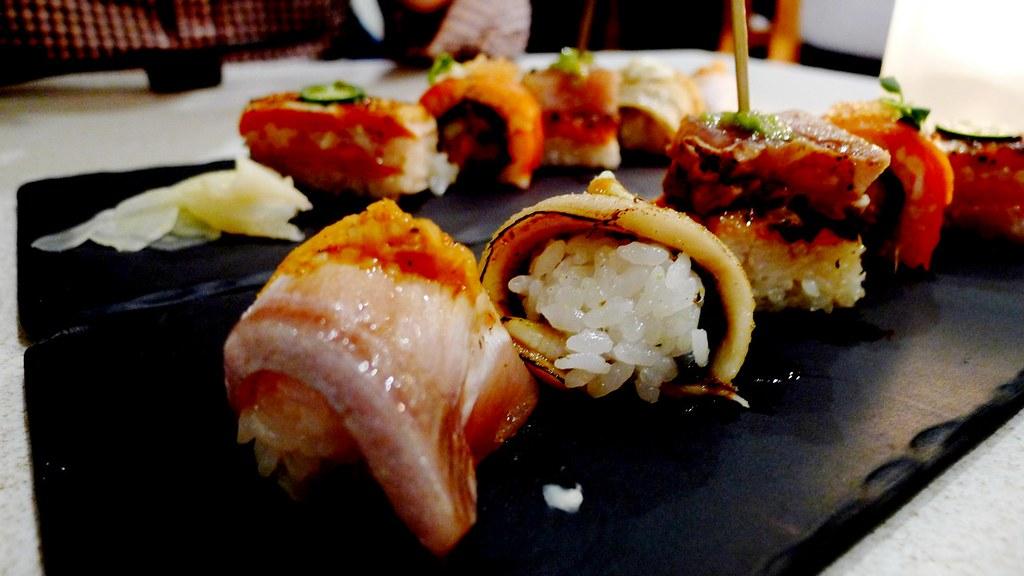 Minami Restaurant Vancouver Dine Out 2014 Aburi Sushi