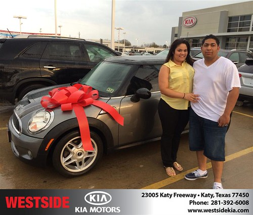 Thank you to Willi Batalle on your new 2008 #Mini #Cooper Hardtop from Orlando Baez and everyone at Westside Kia! #NewCarSmell by Westside KIA