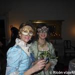 Viajefilos en el Carnaval de Venecia, cena de carnaval 10