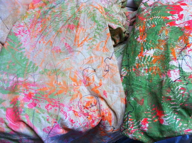 fabric - after 1st wash - pre dye