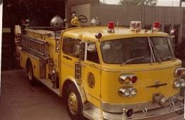 Vintage Yellow Engine
