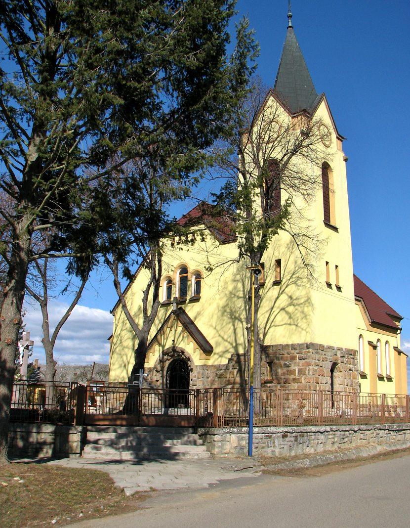 Katolícky kostol vo Veľkej Čalomiji