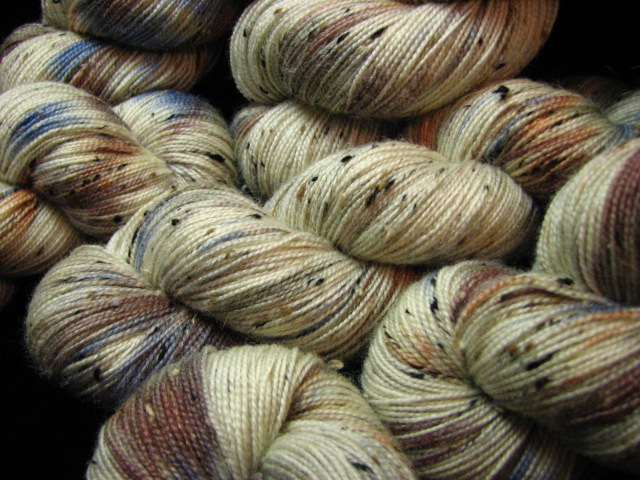 Mineral Ore - October Tiger Club - Bengal Tweed Sock Yarn