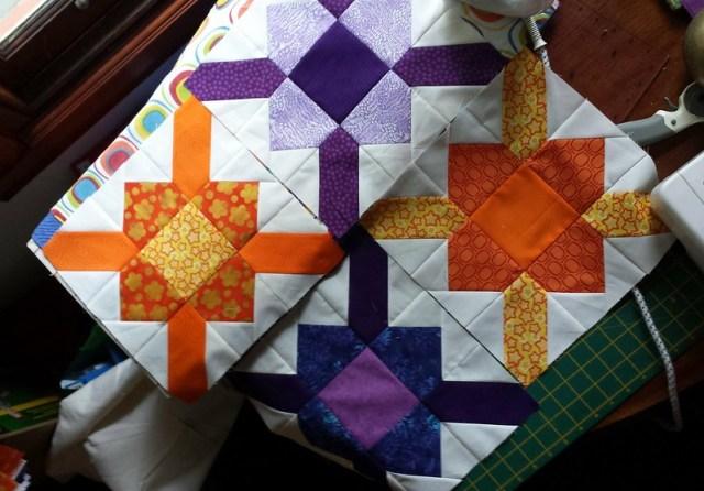Beginning a new quilt