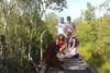 Trekking in Camp Leakey